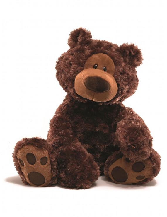 Gund 18 Inch Philbin Chocolate Plush Bear Designer Jewelry by Sweet Pea