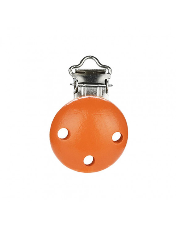 【LNCDIS】Baby Pacifier Clip Safety Wooden Teether Accessories Soother Clasps Holders