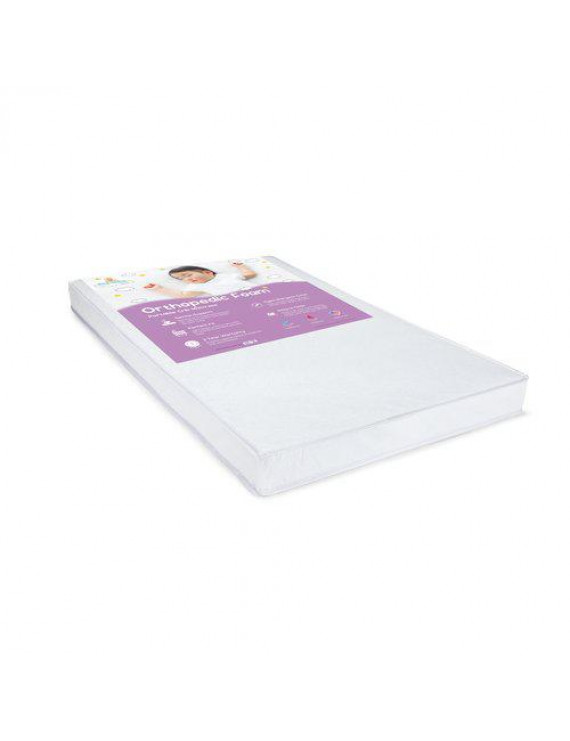 Big Oshi Portable/Mini Crib Waterproof Mattress- Hypoallergenic 38x24x3 Inch