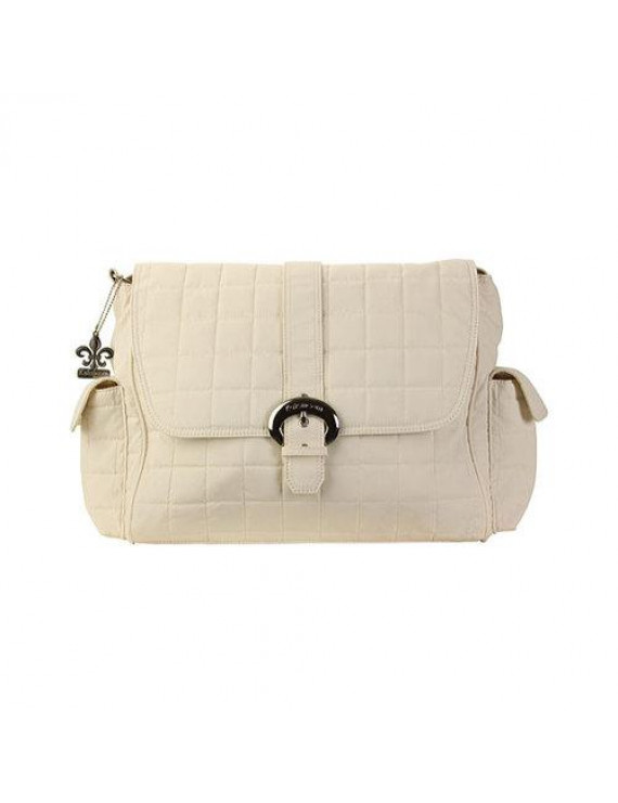 Women's Kalencom Quilted Nylon Buckle Bag Quilt Cream OSFA