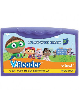 Vtech V.Reader Animated E-Book Reader - Super Why