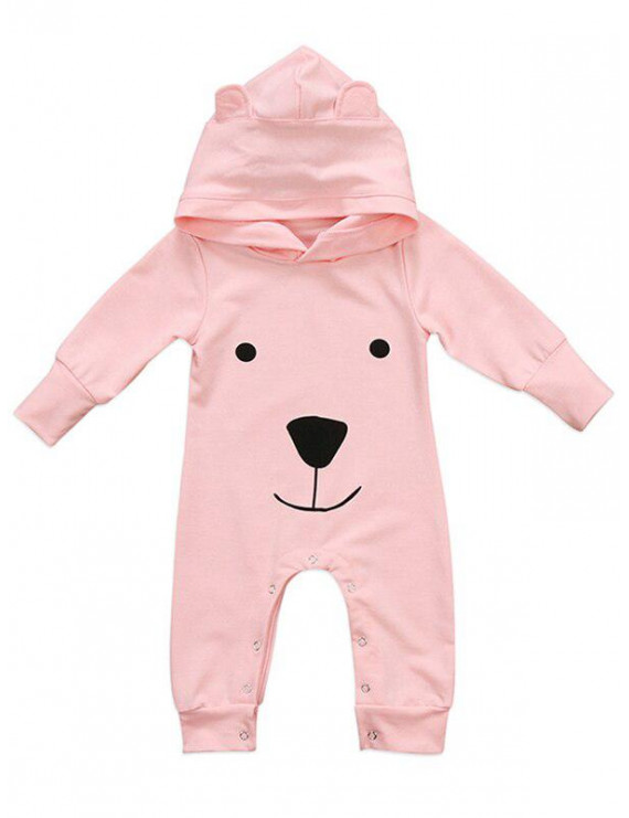 KidLuv Baby Newborn Infant Romper Hooded Bear Jumpsuit Boy Girl Animal Cosplay