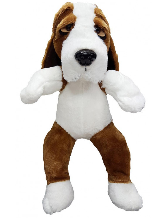 Cuddly Soft 16 inch Stuffed Bassett Hound - We stuff 'em...you love 'em!