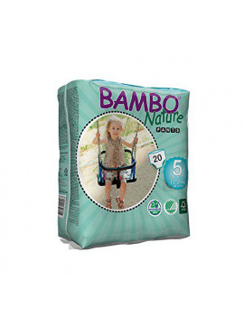 Bambo Nature Baby Training Pants Classic, Size 5 (26-44 lbs), 100 Count (5 Packs of 20)