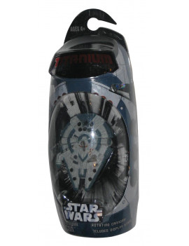 titanium series star wars 3 inch vehicle millenium falcon