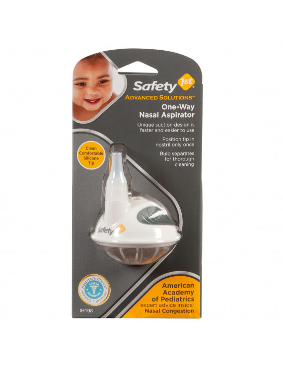 Safety 1st Advanced Solutions One-Way Nasal Aspirator, White