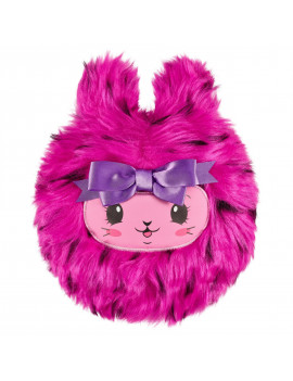 """Pikmi Pops Cheeki Puffs, Fuzzin the Bunny, Large 7"""" Scented Shimmer Plush Toy"""