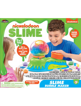 Nickelodeon Slime Bubble Pumper