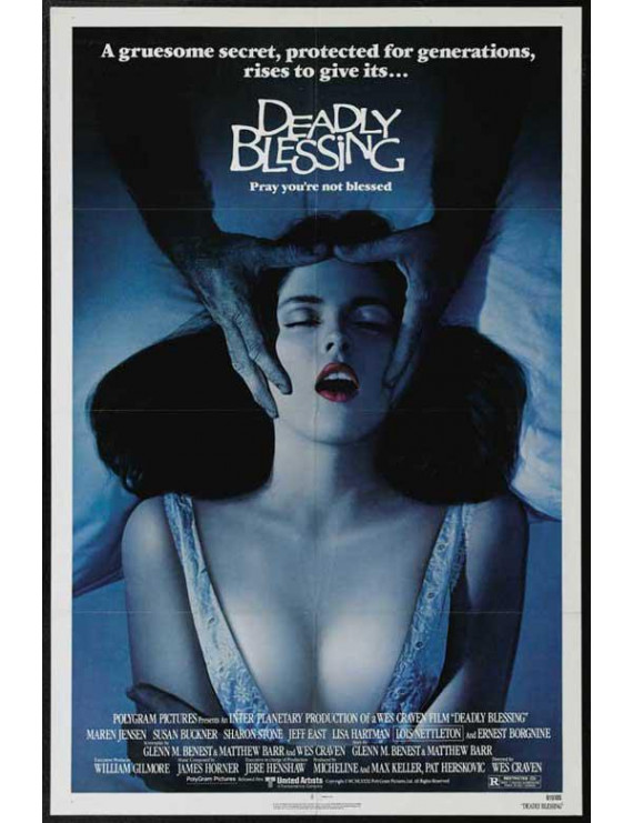 """Deadly Blessing - movie POSTER (Style A) (11"""" x 17"""") (1981)"""