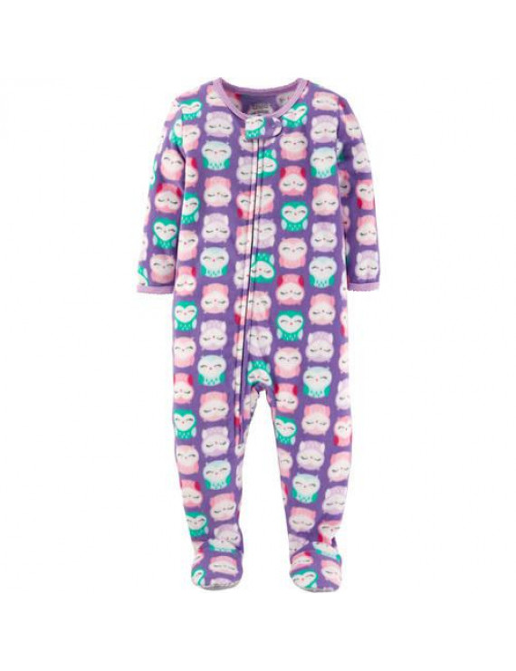 Baby Toddler Girl Fleece Sleeper
