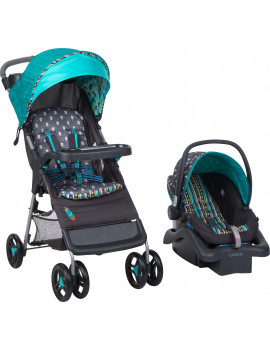 Babideal Bloom Travel System, Feather Boho