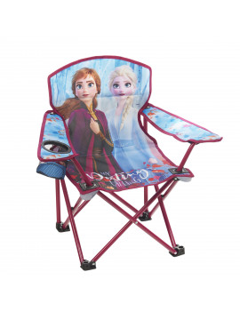 Disney Frozen 2 Kids Camping Chair Featuring Anna and Elsa