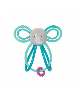 Manhattan Toy Winkel Elephant Rattle and Sensory Teether Baby Toy