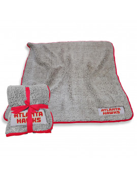 Atlanta Hawks 50'' x 60'' Frosty Fleece Blanket - Gray
