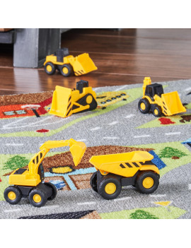Adventure Force Mini Construction Service Vehicles, 5 Pieces