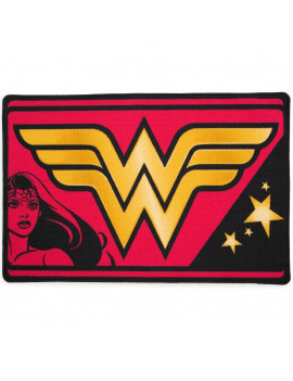 DC Comics Wonder Woman Soft Area Rug with Non-Slip Backing by Delta Children