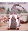 SUPERHOMUSE Handmade Swedish Christmas Santa Claus Decoration Plush Xmas Funny Plush-Christmas Kids Gift