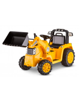 CAT Tractor Bull Dozer, Digger, Ride-On Toy by Kid Trax, yellow