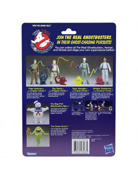 Egon Spengler & Gulper Ghost The Real Ghostbusters Action Figure 4.5""