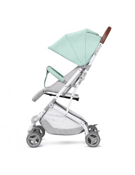 Baby Umbrella Stroller,Aluminum Lightweight Stroller Travel Foldable Design with Large Storage Basket Oxford Canopy Green