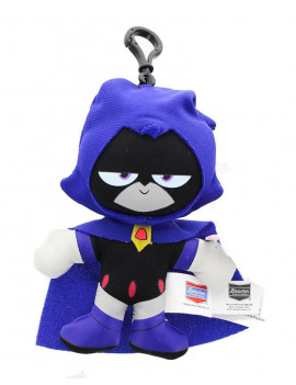 "DC Comics Teen Titans Go! 4"" Raven Plush Clip-On"