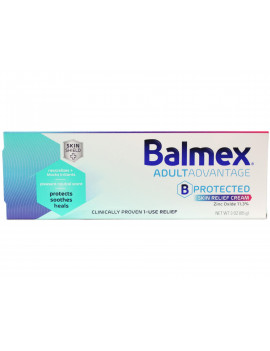 3 Pack - Balmex Adult Care Rash Cream 3oz Each