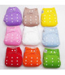 1pc Adjustable Kids Infant Reusable Washable Baby Cloth Diapers Nappy Cover