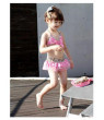 Beach Baby Pinky Leopard Ruffled 3-pc Swimsuit Set (4-5 Years)