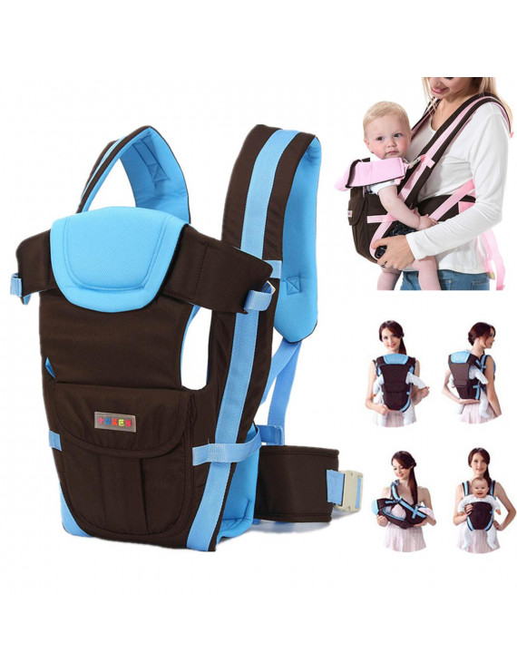 Air Mesh Lightweight 4 / All Carry Positions, 360° Ergonomic All Season Baby & Child Infant Toddler Newborn Carrier Backpack Front Back Wrap Rider Sling Soft & Breathable Cotton