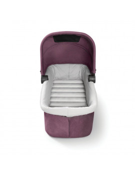 Baby Jogger City Tour LUX Foldable Baby Travel Stroller Pram Bassinet, Rosewood