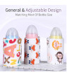 USB Bottle Warmer Heater Sleeve 40℃ Constant Temperature Portable Milk Heating Insulation Feeding Bottle Cover Coffee Tea Mug Beverage Warming Bag