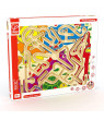 Award Winning Hape Zoo'm Kid's Magnetic Wooden Bead Maze Puzzle