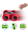 NK HOME 4 Pack Friction Powered Car Toys, Double-sided Stunt Flip Inertia Car, Push and Go Toy Cars for Toddlers, Powered Pull Back Toys Vehicle 360 Rotation, Gifts for 3 4 5 6 7 8 Year Old Boy