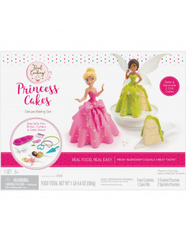 Real Cooking Princess Cakes Deluxe Baking Set