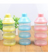 Baby Infant Toddler Detachable Three-layer Milk Powder Box Portable Stroage Case