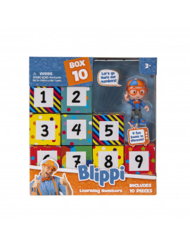 Blippi Surprise Boxes Learning Numbers