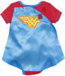 DC Comics Wonder Woman Baby Girls' Bodysuit and Cape, Red (6-9 Months)