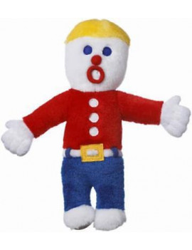 "10"" Mr Bill Plush Dog Toy With A Plastic Voice Box Only One"
