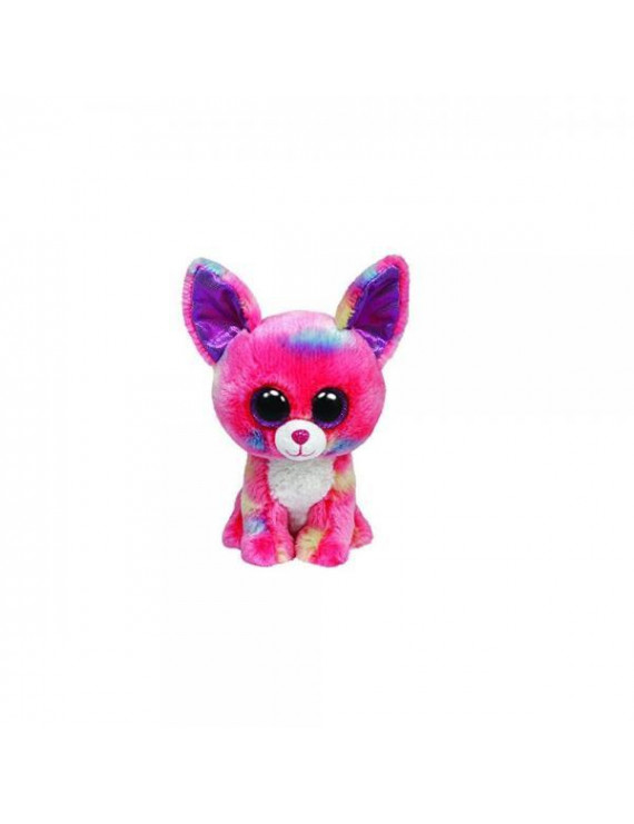 Ty Beanie Boos Cancun Chihuahua Plush, Pink, Medium