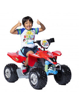 12 Volt Ryan's World ATV - Features authentic sticker sheet to personalize your ride!