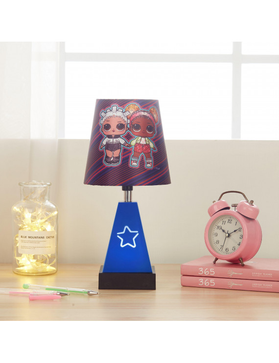 LOL Surprise 2-in-1 Kids Lamp with Night Light