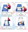 ECR4Kids Toddler Nap Mat Companion - Portable All-in-One Preschool/Daycare Nap Bundle
