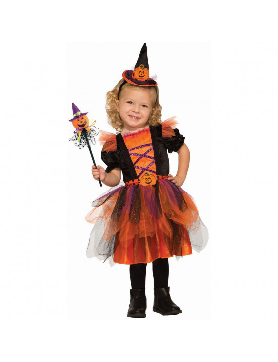 Halloween Deluxe Pumpkin Witch - Infant/Toddler Costume