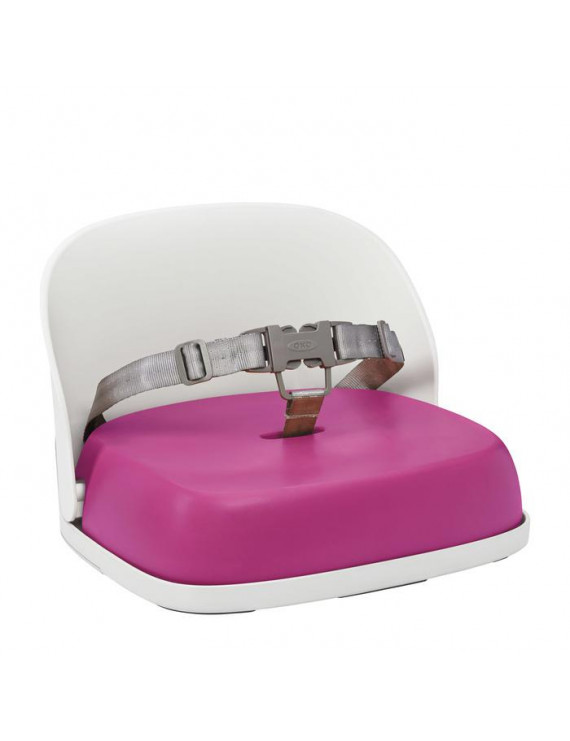 OXO Tot Perch Booster Seat With Straps, Pink