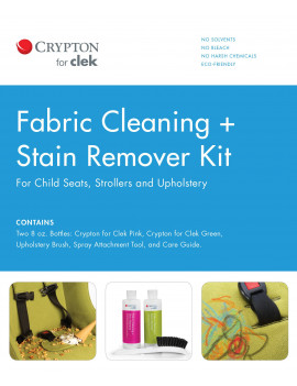 Clek Fabric Cleaning + Stain Remover Kit