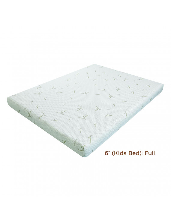 "New Dreamer 6"" (Kids Bed): Full"