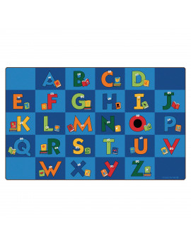 Carpets for Kids Reading Letters Library Kids Area Rug
