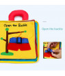 Children's 3D Educational Interactive Toys Kid Cognitive Book Soft Cloth Intelligence Development Study Picture Cognize Book
