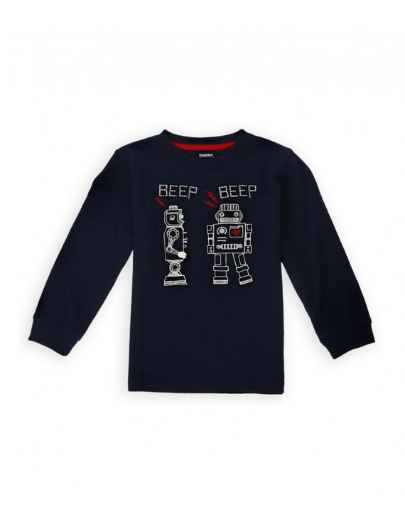 Gymboree Boys Robot Love Graphic T-Shirt