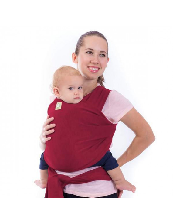 Baby Wrap Carrier All-in-1 Stretchy Baby Wraps - Baby Carrier - Infant Carrier - Baby Wrap - Hands Free Babies Carrier Wraps - Baby Shower Gift - One Size Fits All (Royal Magenta)